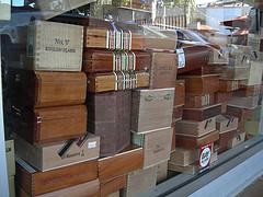 cigar boxes